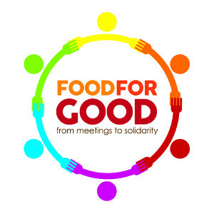 From meetings to solidarity: logo di 'Food for good'